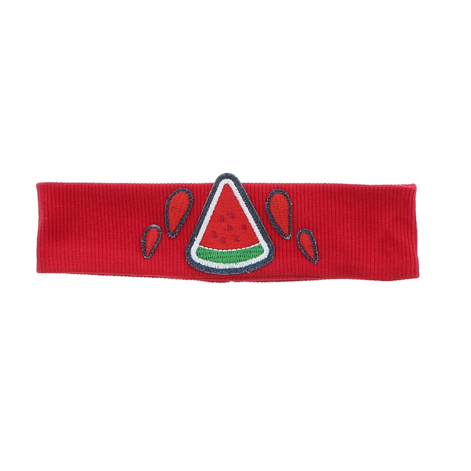 Baby Band Headband with Watermelon Slice - Red