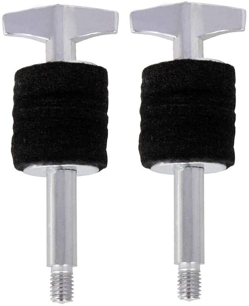 Liyafy 2 Pcs 4 Inch Cymbal Stacker Cymbal Replacement Accessories - Style A Small