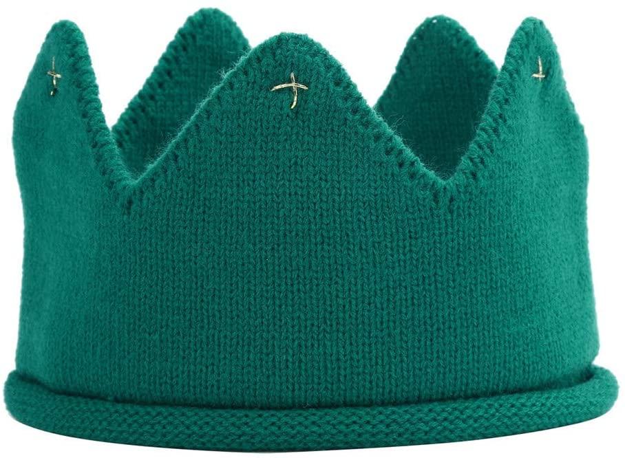 Little Story Crown Knit Headband & Hat New Cute Baby Boys Girls Crown Knit Headband Hat