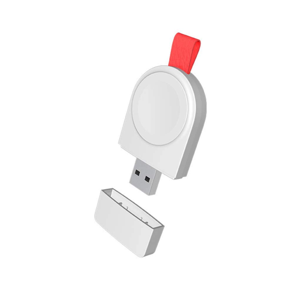 UMei Wireless Charger USB Fast Charging Pad Stand Dock Stand Holder Compatible with IWatch Series 5 40/44mm