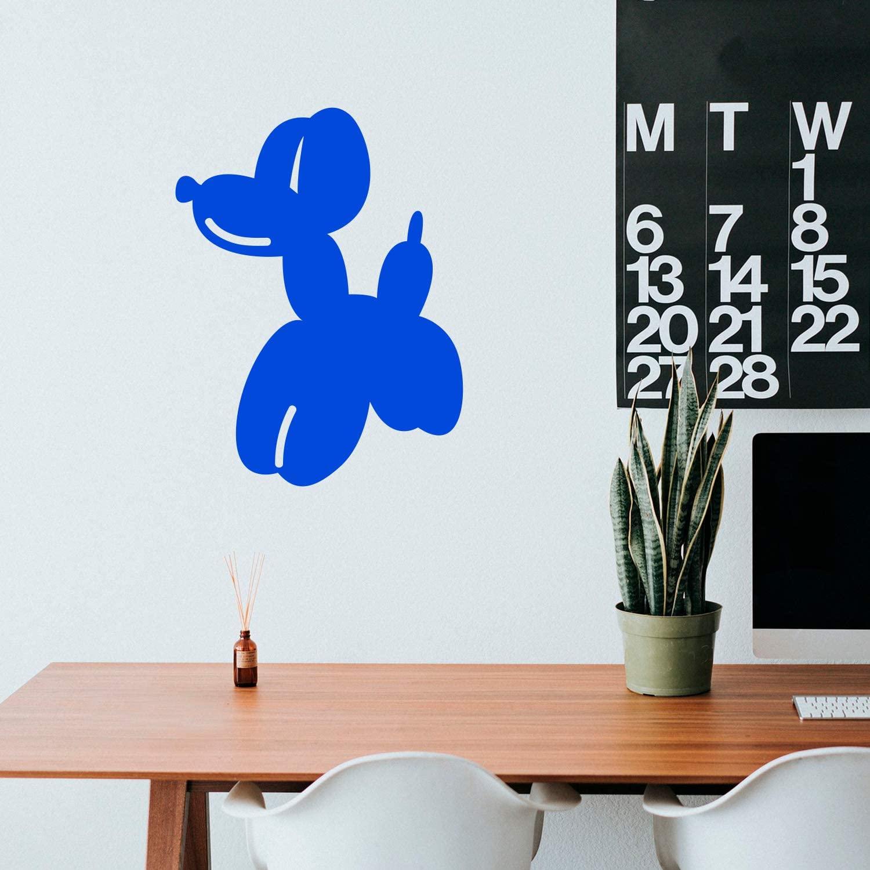 Vinyl Wall Art Decal - Balloon Dog - 29