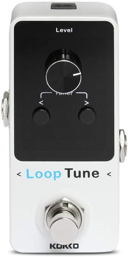 KOKKO Looper Guitar Pedal Effects Mini Loop pedal Loops 9 Loops 40 minutes Record Time Colorful LED Display