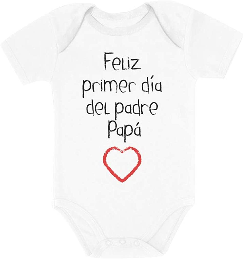Regalos para el Dia del Padre, Regalos Papa - Feliz Dia del Padre Baby Bodysuit
