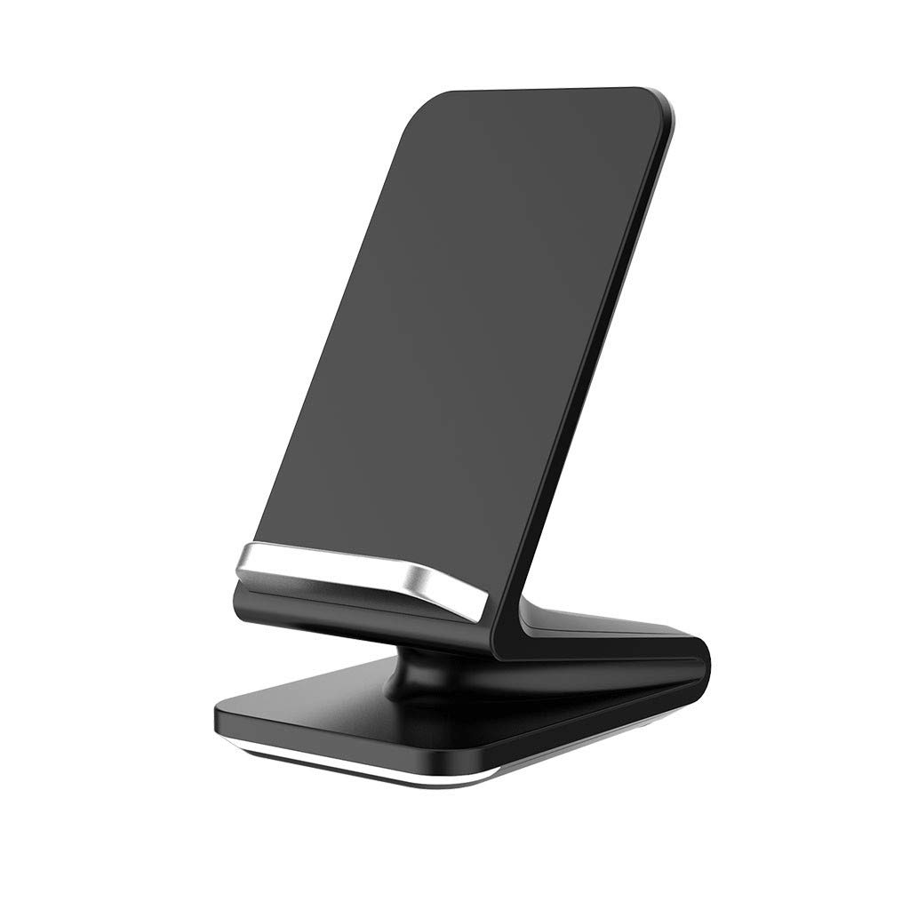 Qi Wireless Charger,UMei Qi-Certified Fast Wireless Charging Pad Stand Wireless Charging Pad Dock Holder Compatible with iPhone 11/11 Pro/11 Pro Max/XS Max/XS/X/8