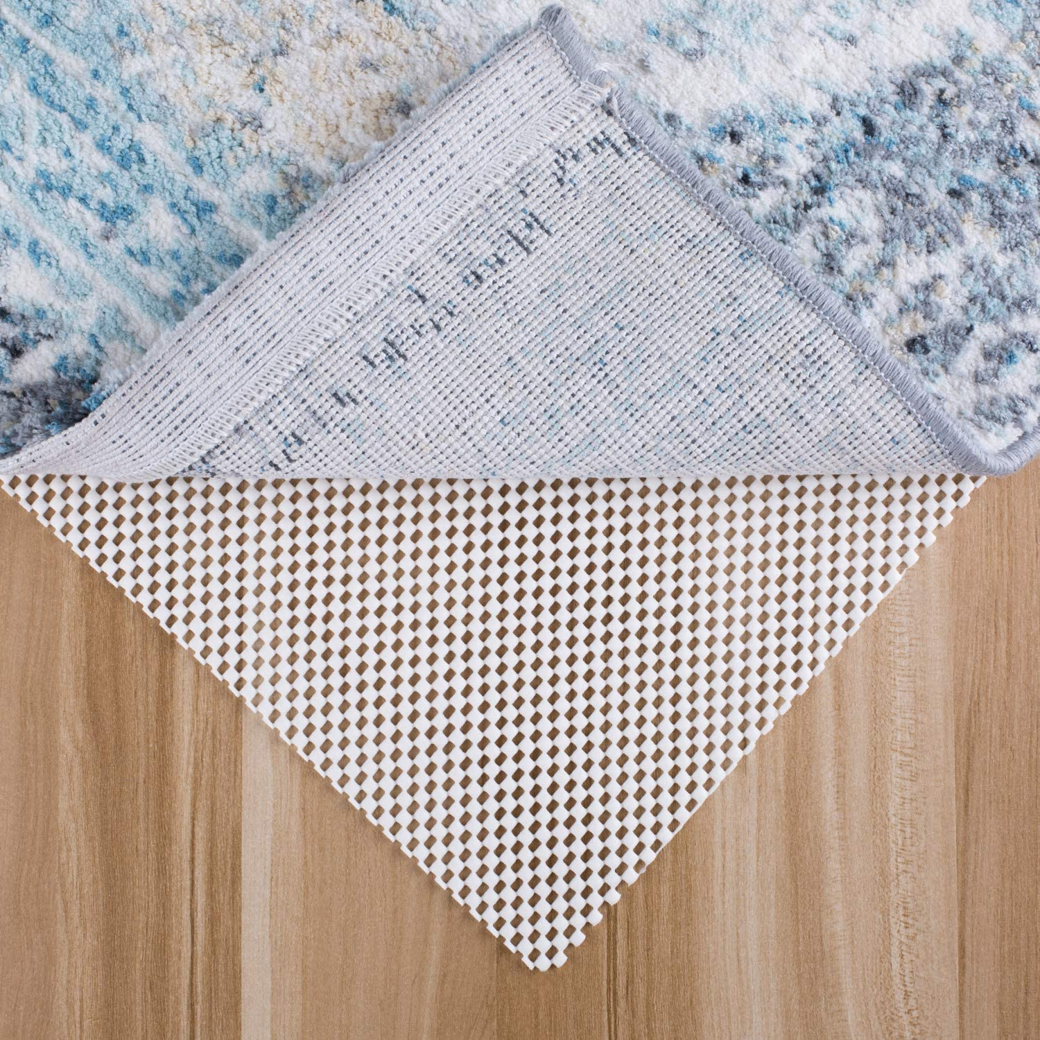 MAYSHINE Non-Slip Area Rug Pad Mat 5 x 7 Feet for All Floors and Finishes, Keeps Your Carpet Safe and in Place
