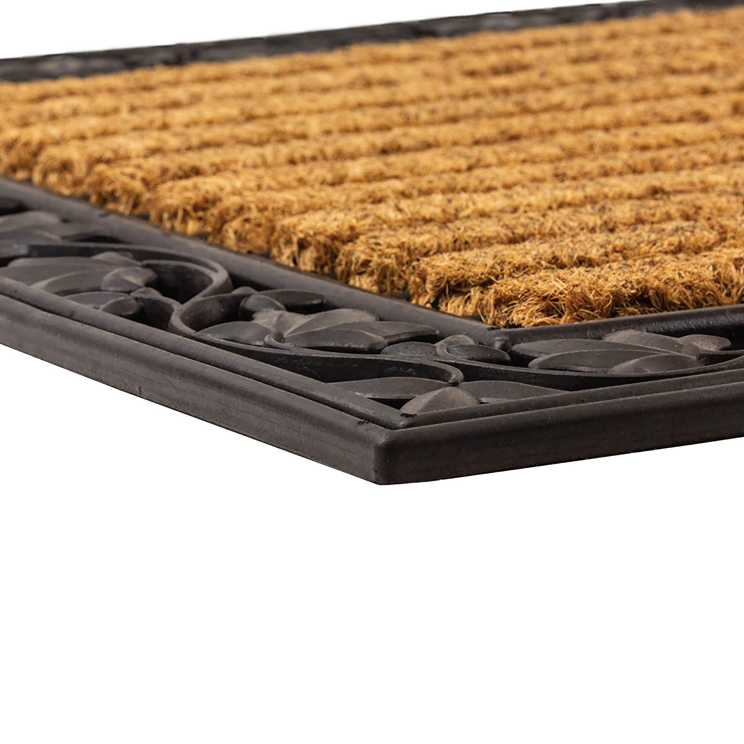 NoTrax C04 Ivy Leaf Coir Mat for Indoor/Outdoor Use 24x36