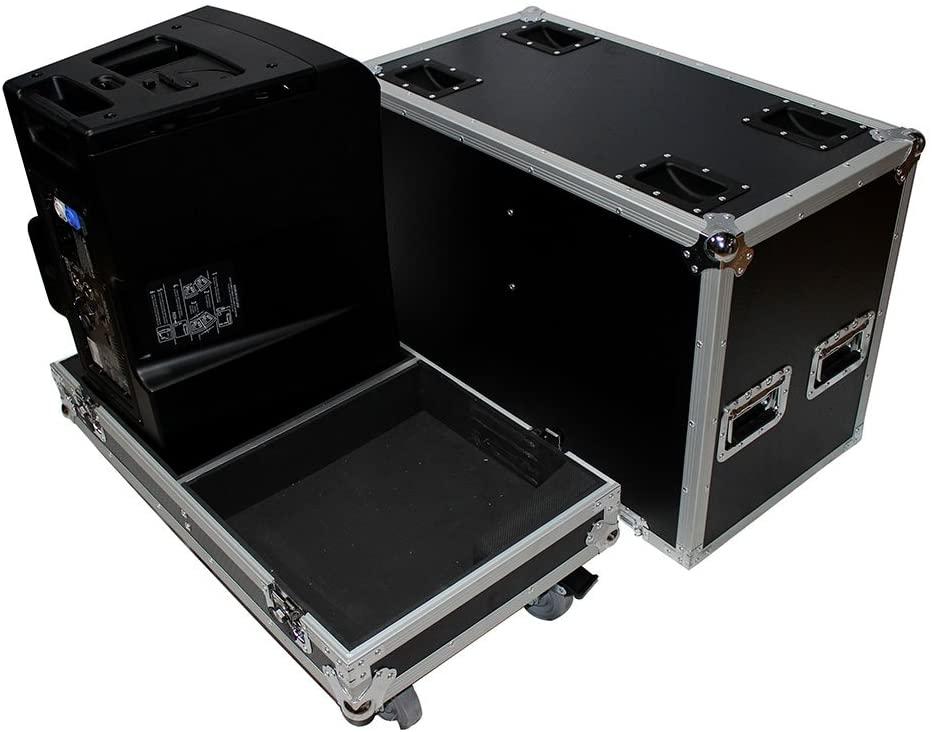 ProX X-QSC-KLA12 Hard Travel ATA Flight Case for 2x QSC KLA12 Monitor Speaker