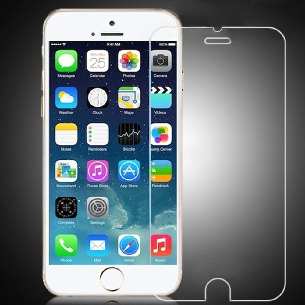 The Elixir Tech iPhone 6 Tempered Glass Screen Protector for iPhone 6 Air 4.7 inch 9H Hardness Ultra Thin