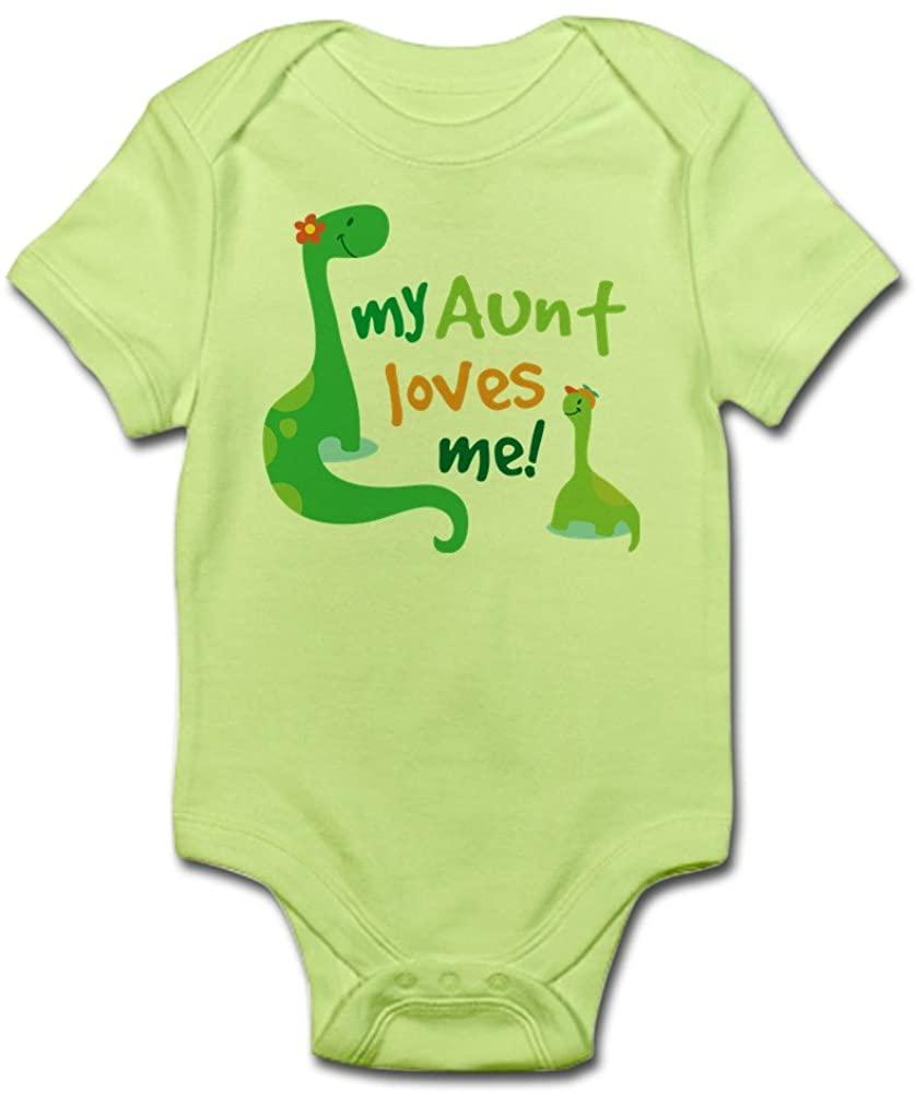 CafePress My Aunt Loves Me Infant Bodysuit Baby Bodysuit