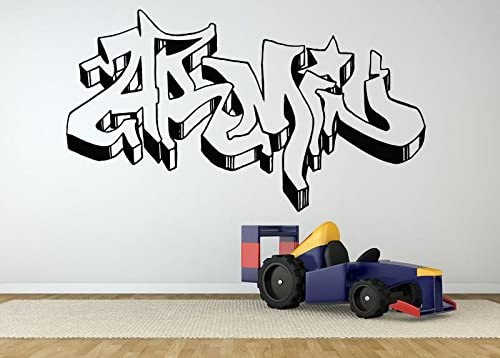 Wall Room Decor Art Vinyl Sticker Mural Decal Armin Graffiti Nick Baby Name Poster Kids Bedroom Playroom Nursery AS2667