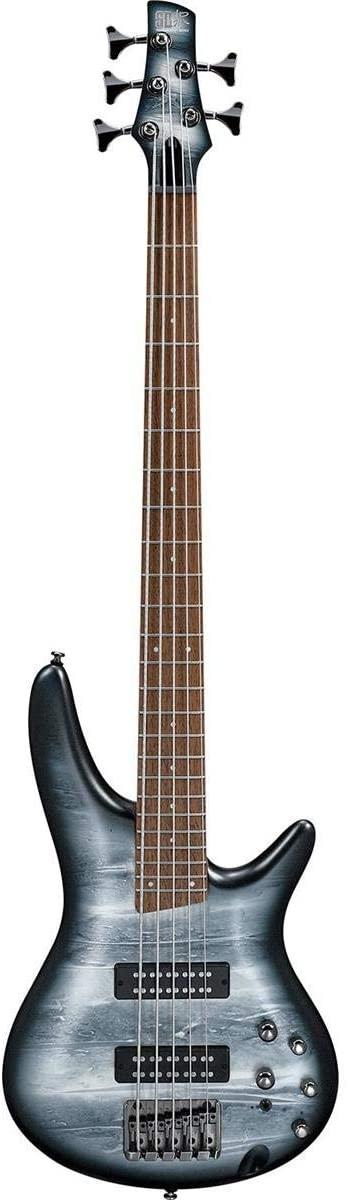 Ibanez SR305EBPM 5-String Electric Bass Black Planet Matte TGF11