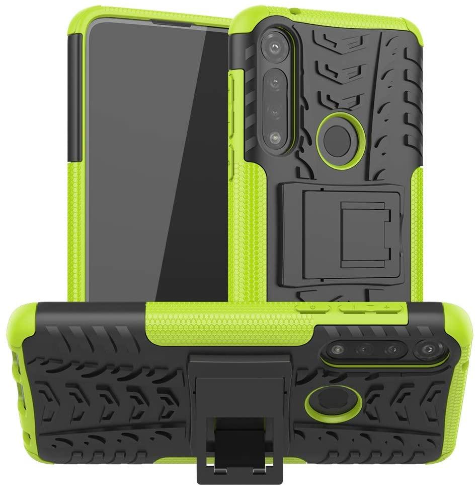 Motorola Moto G Power Case, CaseExpert Heavy Duty Shockproof Rugged Impact Armor Hybrid Kickstand Protective Cover Case for Motorola Moto G Power