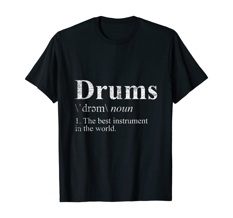 Drums T-Shirt T-Shirt