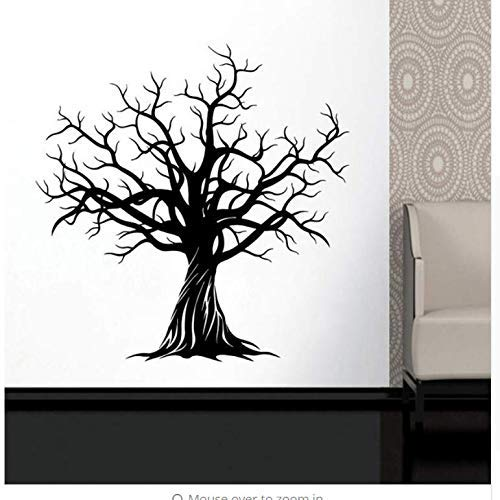 Wall Sticker Stylish Huge Tree - Nature Art Decor Home Decal - DIY Winter Tree Branch Decal Living Room 42 43Cm