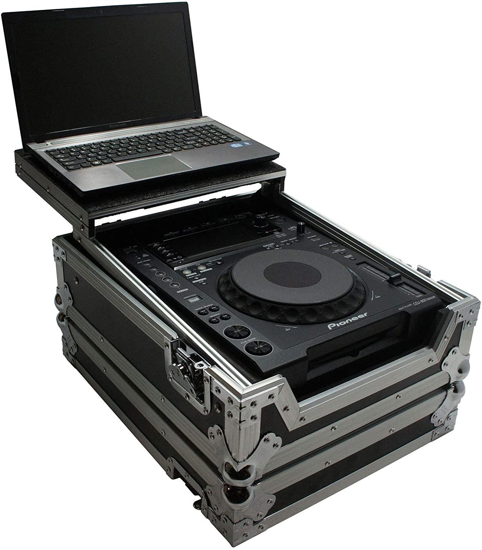 Harmony HCDJM900NXS2LT Flight Glide Laptop Stand DJ Case Compatible with Pioneer CDJ-900NXS