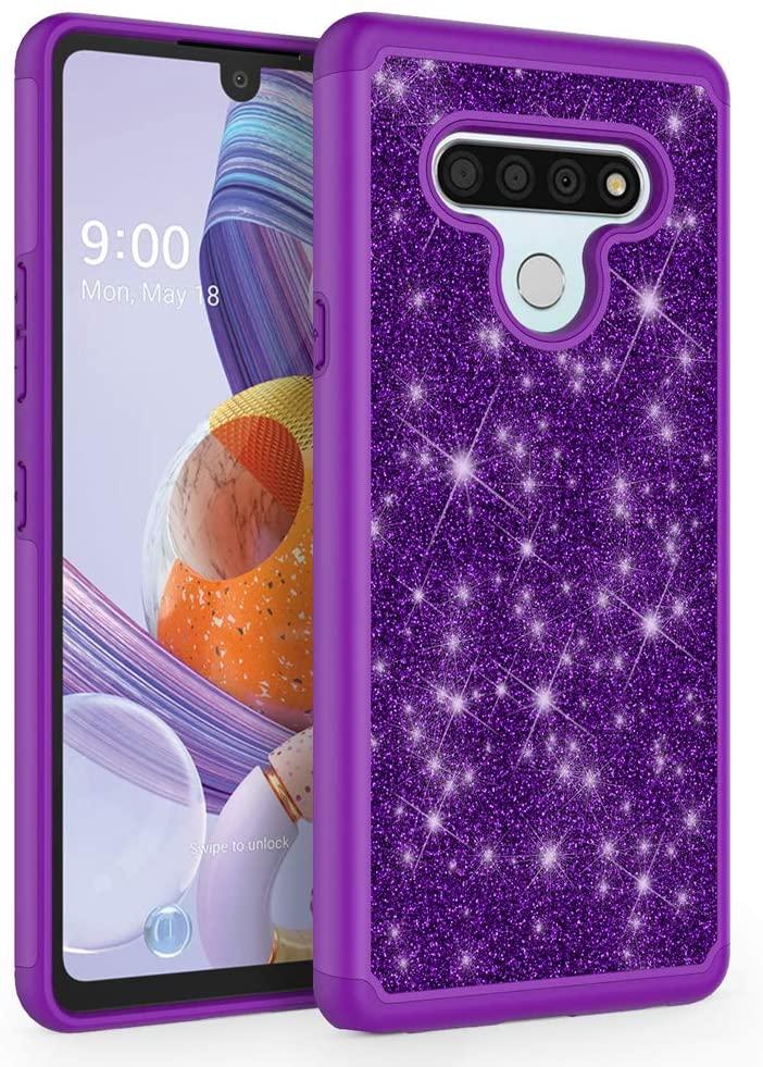 SYONER Glitter Phone Case Cover for LG Stylo 6 (6.8