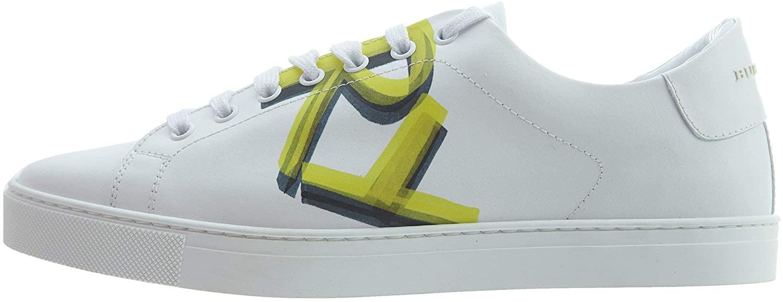 BURBERRY Graffiti A Mf Albert Mens Style : 4076217-73510 Size : 41 M US White/Yellow