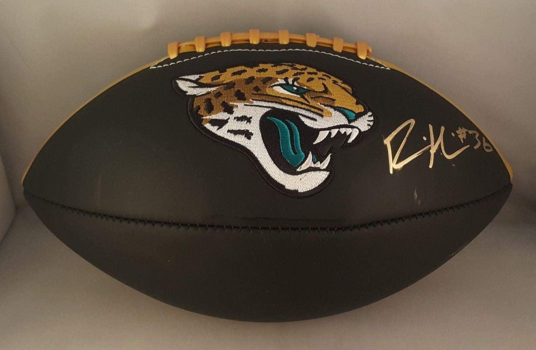 Ronnie Harrison Autographed Signed Football Jacksonville Jaguars JSA - Autographed Footballs