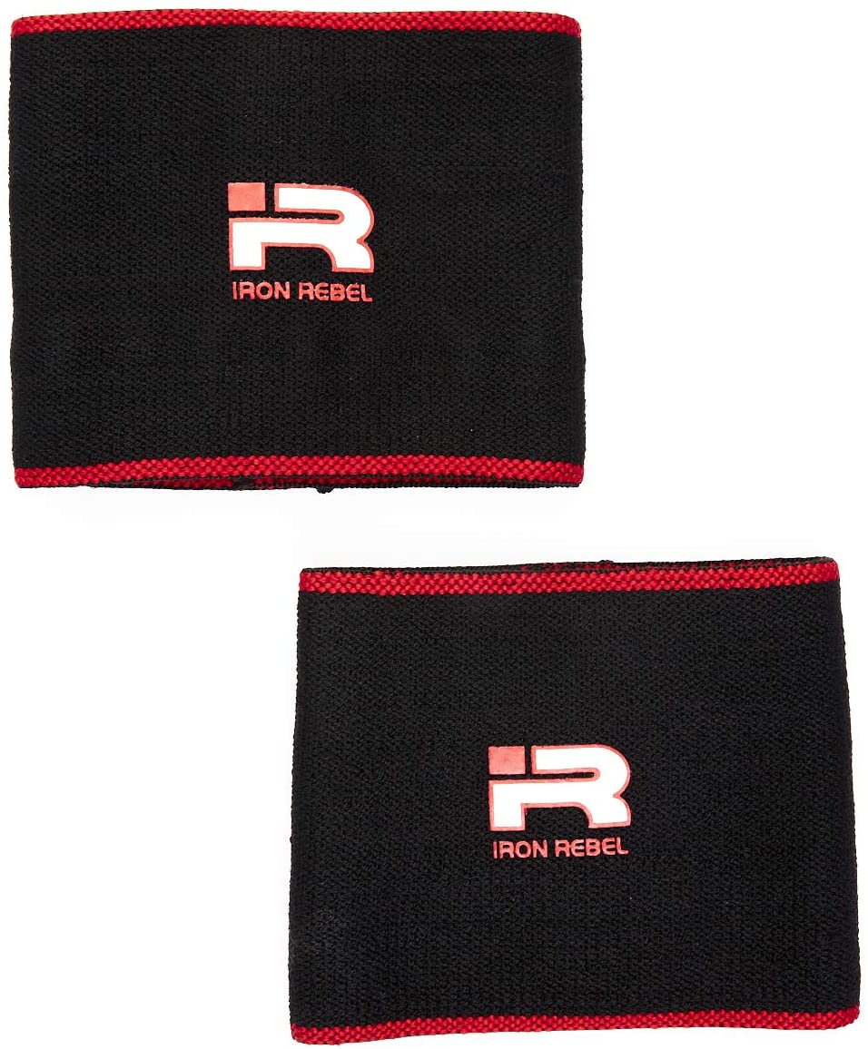 Iron Rebel Elbow Sleeves - Compression Support for Powerlifting, Bodybuilding, Training or Muscle Recovery for Men and Women
