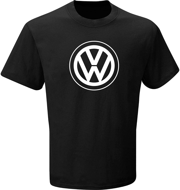Volkswagen VW Logo Black T-Shirt