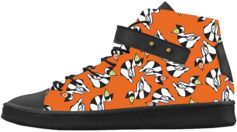Custom Women's Shoes Cat New Sneaker Canvas Round Toe