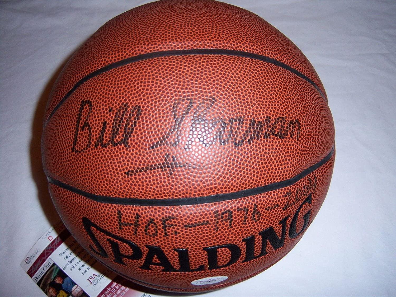 Bill Sharman Boston Celtics,hof Jsa/coa Signed Basketball - Autographed Basketballs