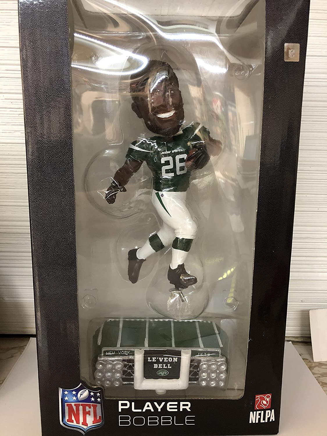 SP Images Le'Veon Bell Jets FOCO Stadium Lights Bobblehead Figure 10