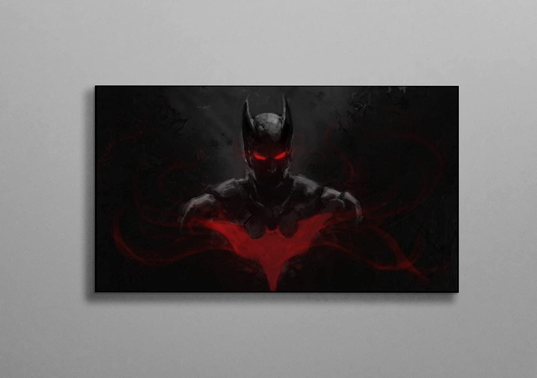 Batman Beyond Red Eyes Poster Wall Decor Print Canvas Art Wall Art Print Gift Unframed Printing Size - 11