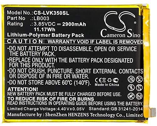 Cameron Sino Replacement Battery for Lenovo K350t,K5,K5 Dual SIM