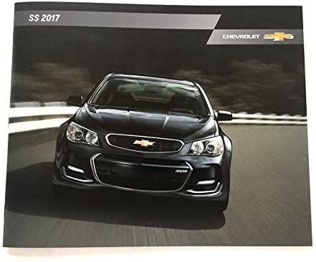 2017 Chevrolet SS 20-page Car Sales Brochure Catalog - Holden Commodore