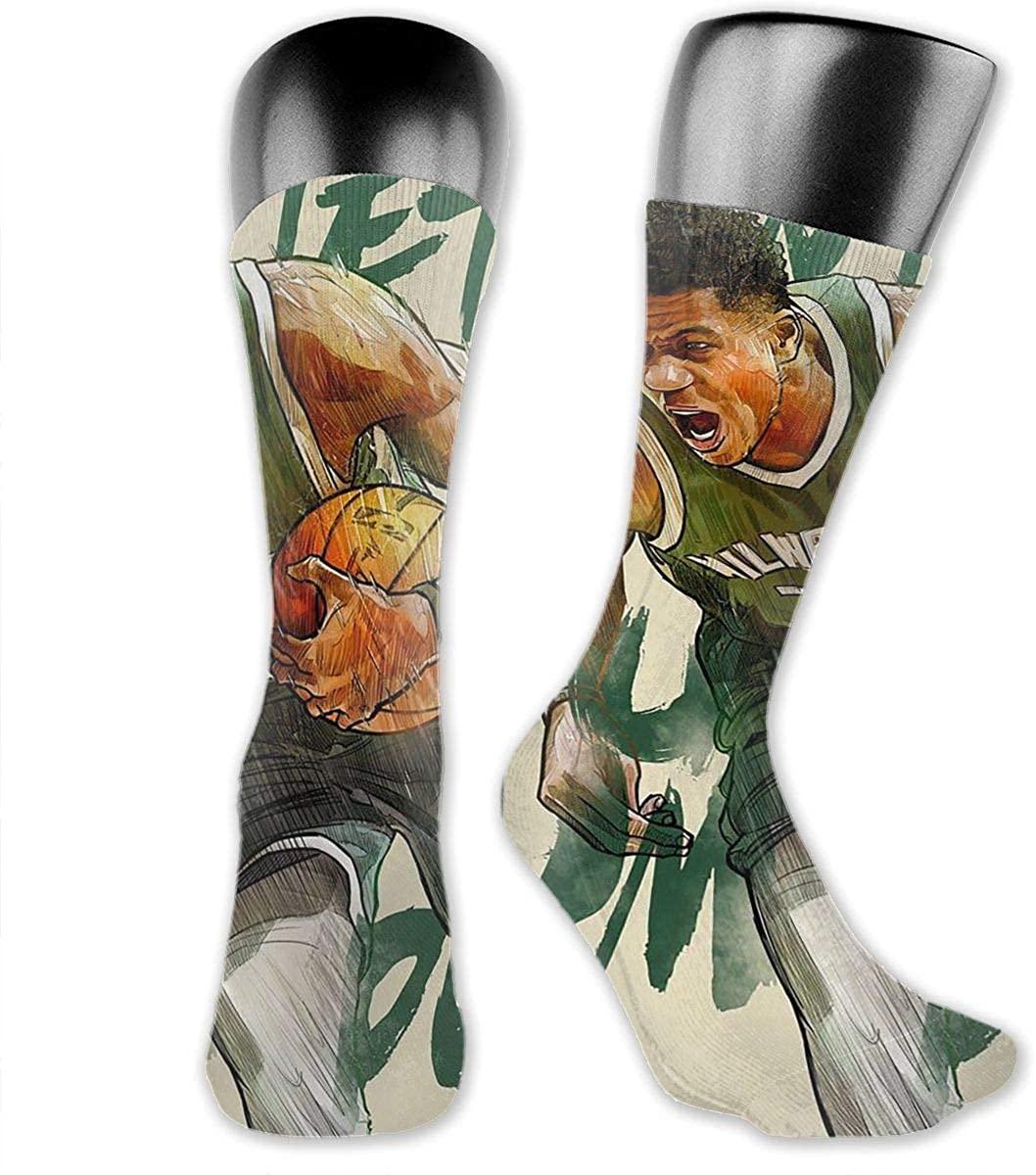 DLAZANA Greek Feark Crew Socks in Size 3.34 x 15.75 inches
