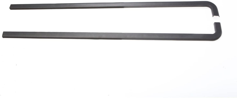 Rugged Ridge 11650.41 Black Body Tub Rail Armor for 97-06 Jeep Wrangler TJ/LJ