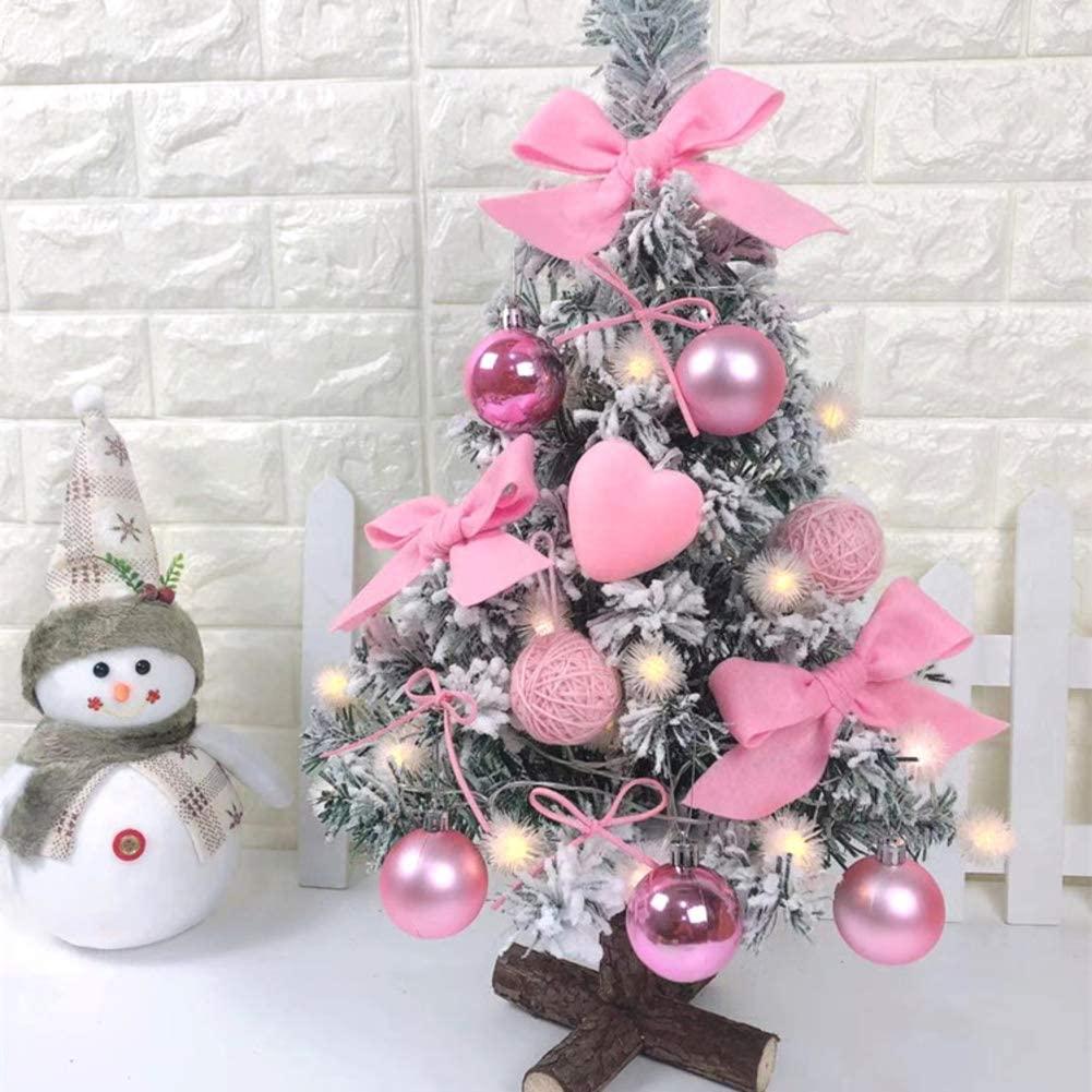 Barm Artificial Flocking Decoration Tree,Christmas Tree Home Decoration,Christmas TreeItLed OrnamentsXmas Treee