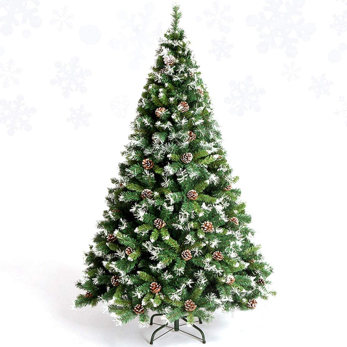 Fluffy Christmas Tree Christmas DecorationAs Tree,Metal StanEasy to Install Artificial Tree,for Family Friends Kids Party
