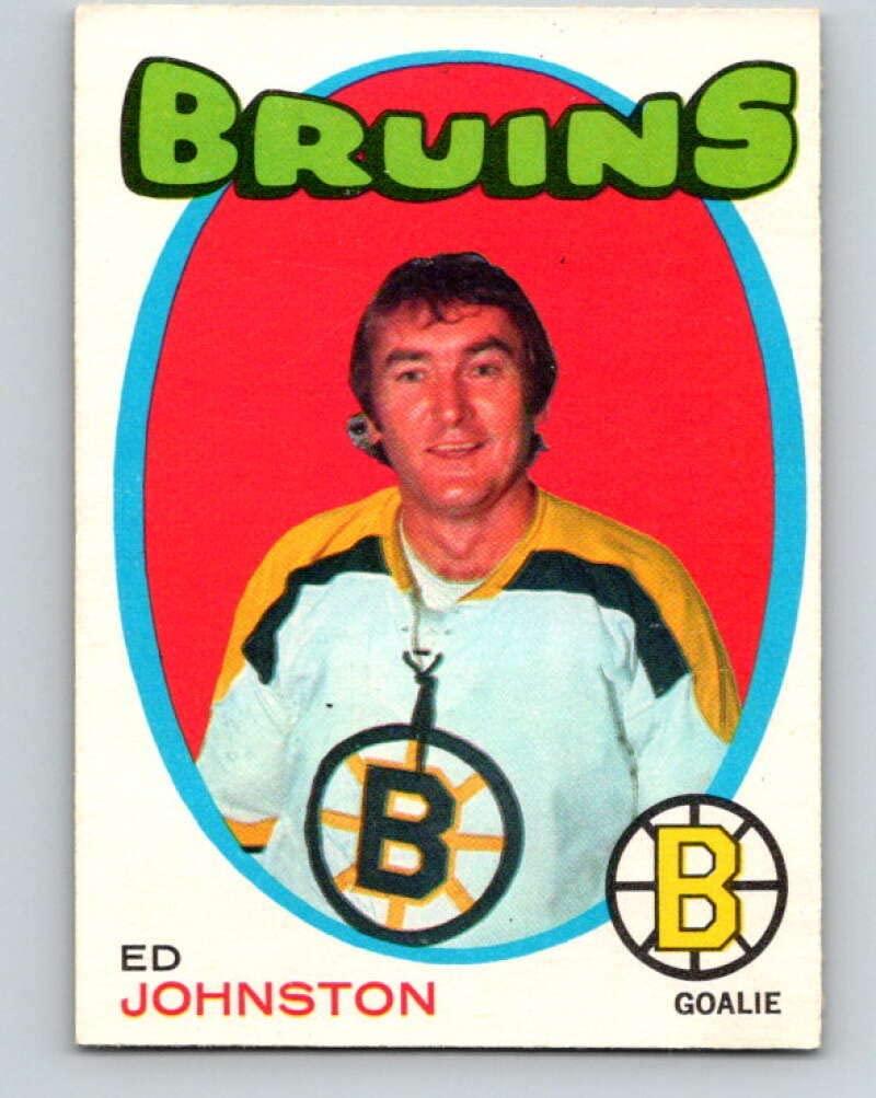 (HCW) V9482-1971-72 O-Pee-Chee #172 Ed Johnston Boston Bruins