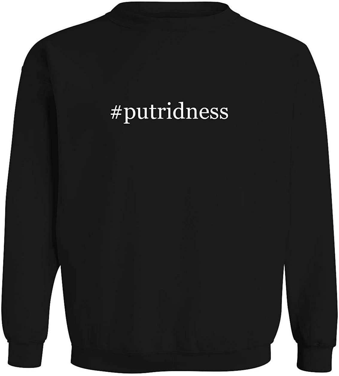 #putridness - Men's Hashtag Soft & Comfortable Long Sleeve T-Shirt
