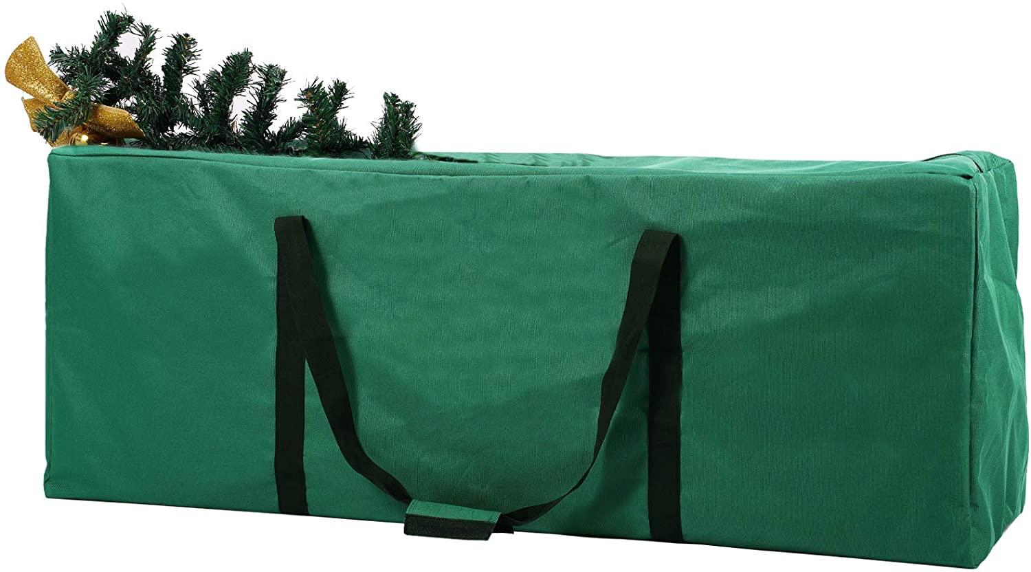 INFANZIA Christmas Tree Storage Bag,Fits Up to 7.5ft Tall Xmas Artificial Disassembled Trees Bag with Durable Handles&Heavy Duty Zipper ,Water-Resistant Material Protects from Dust, Moisture