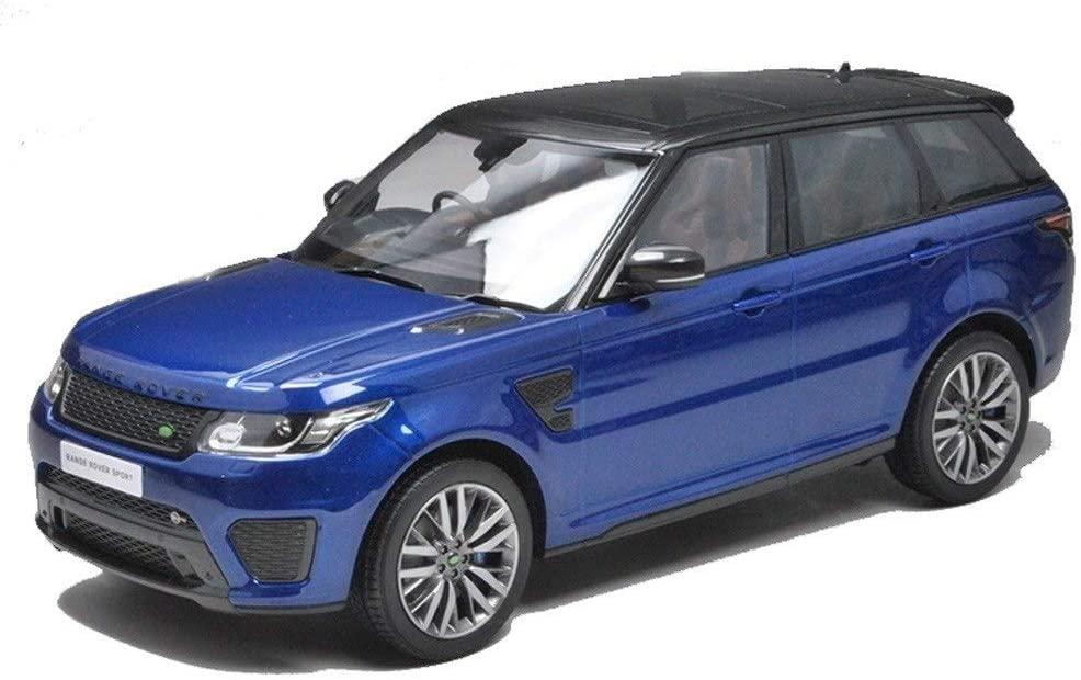 Hty 1:18 Land Rover Range Rover Sport SVR Simulation Alloy Car Model (Color : Blue)
