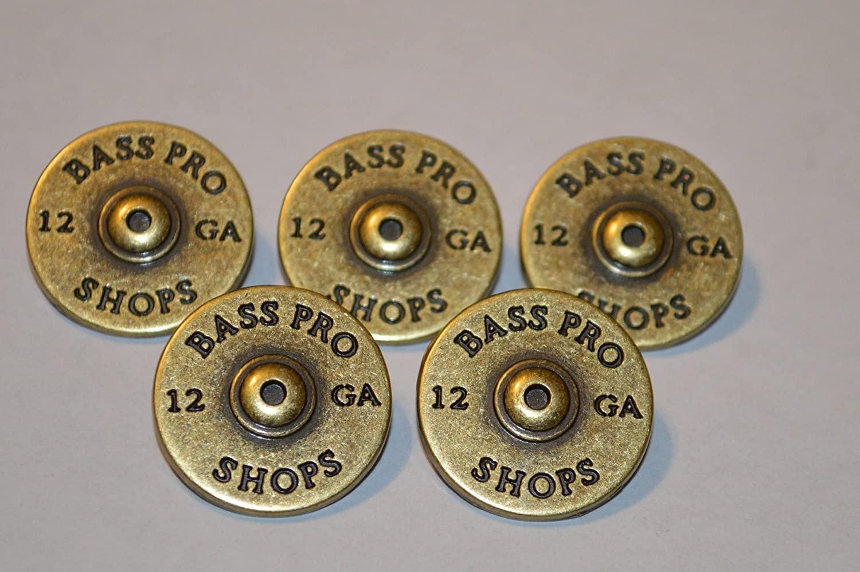 5 Shotgun Shell Rivetback Concho Leather Bass Pro Belt 12 Gauge