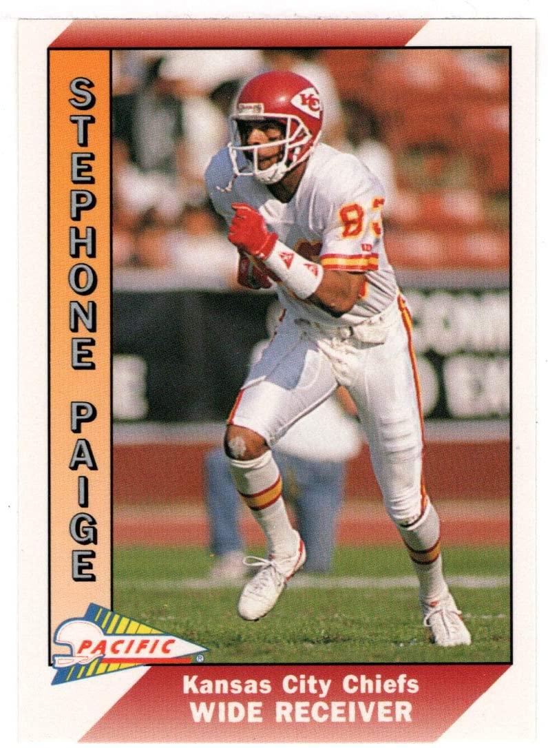 Stephone Paige - Kansas City Chiefs (Football Card) 1991 Pacific # 215 Mint