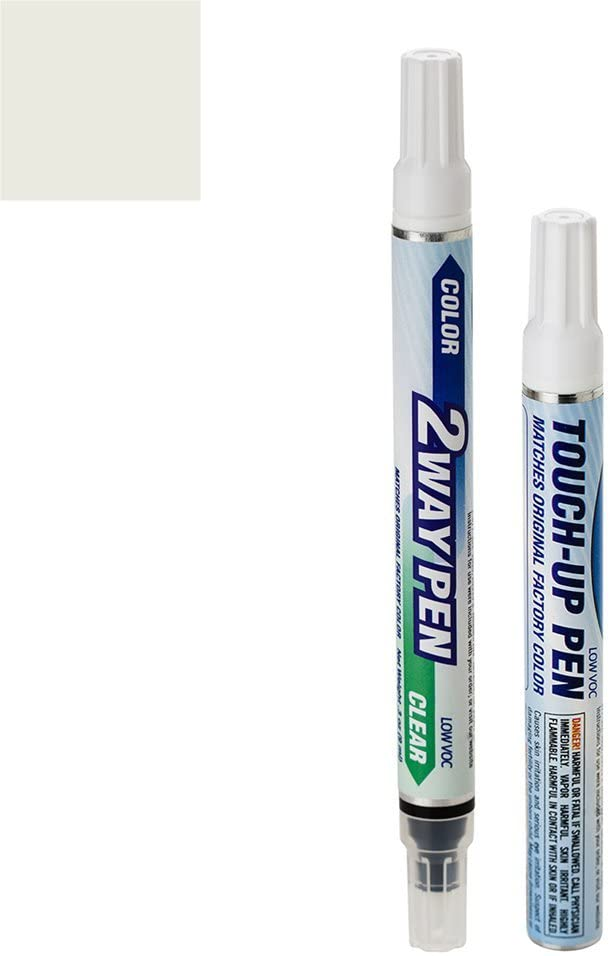 ExpressPaint 2WayPen - Automotive Touch-up Paint for Lexus RX350 - White Crystal Pearl Tricoat 062 - Color + Clearcoat Only