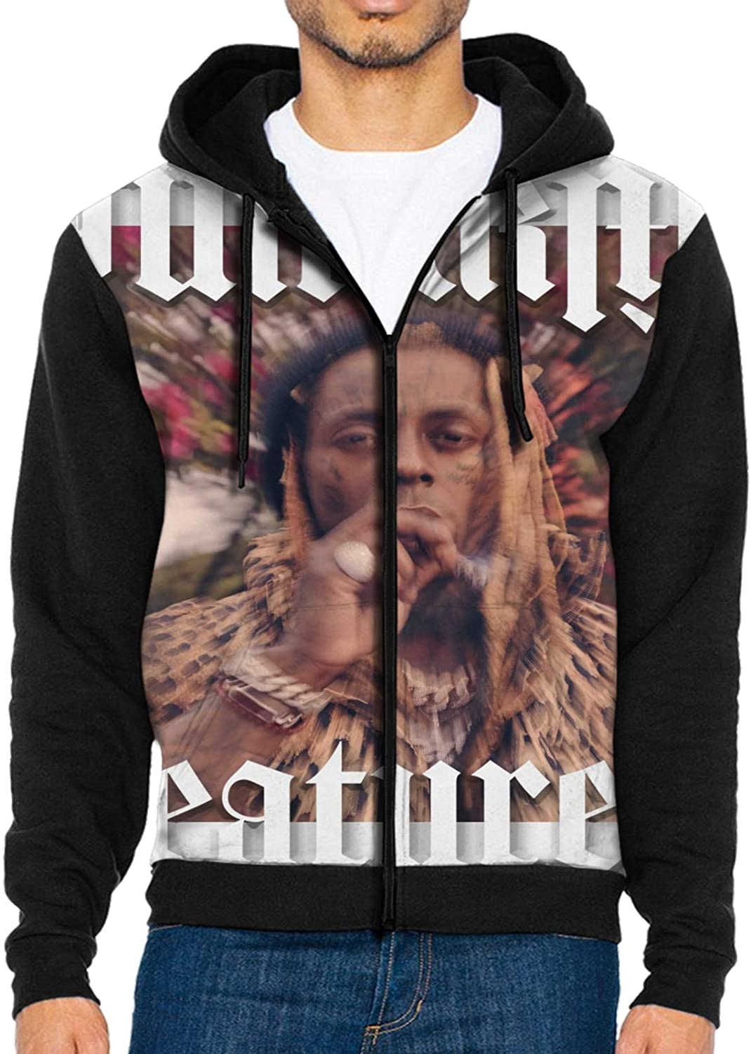 NaohBent Lil Wayne Funeral Man Jacket Sweater Winter Casual Hoodie