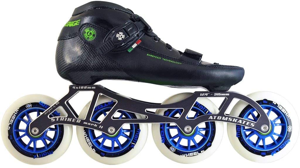 Atom Luigino Challenge Inline Skate Package (Wheels Size 90mm)
