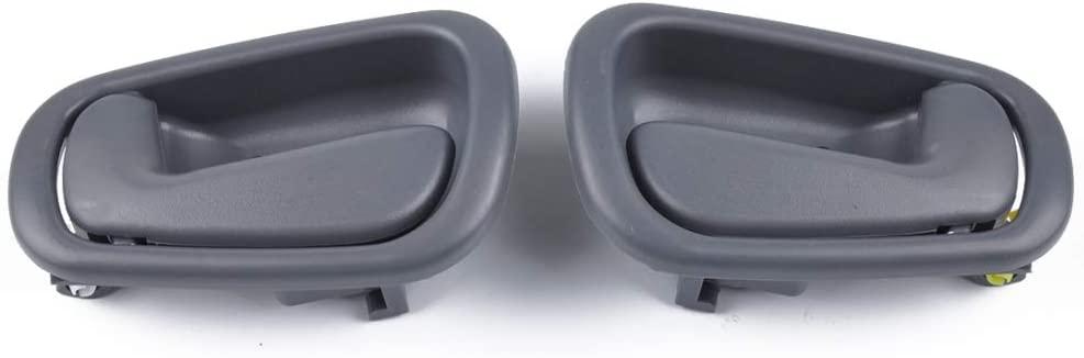 Car Special 2 PCS Car Right Left Inner Door Handles 69205-02050RH / 69206-02050LH for Toyota Corolla 1998-2002.