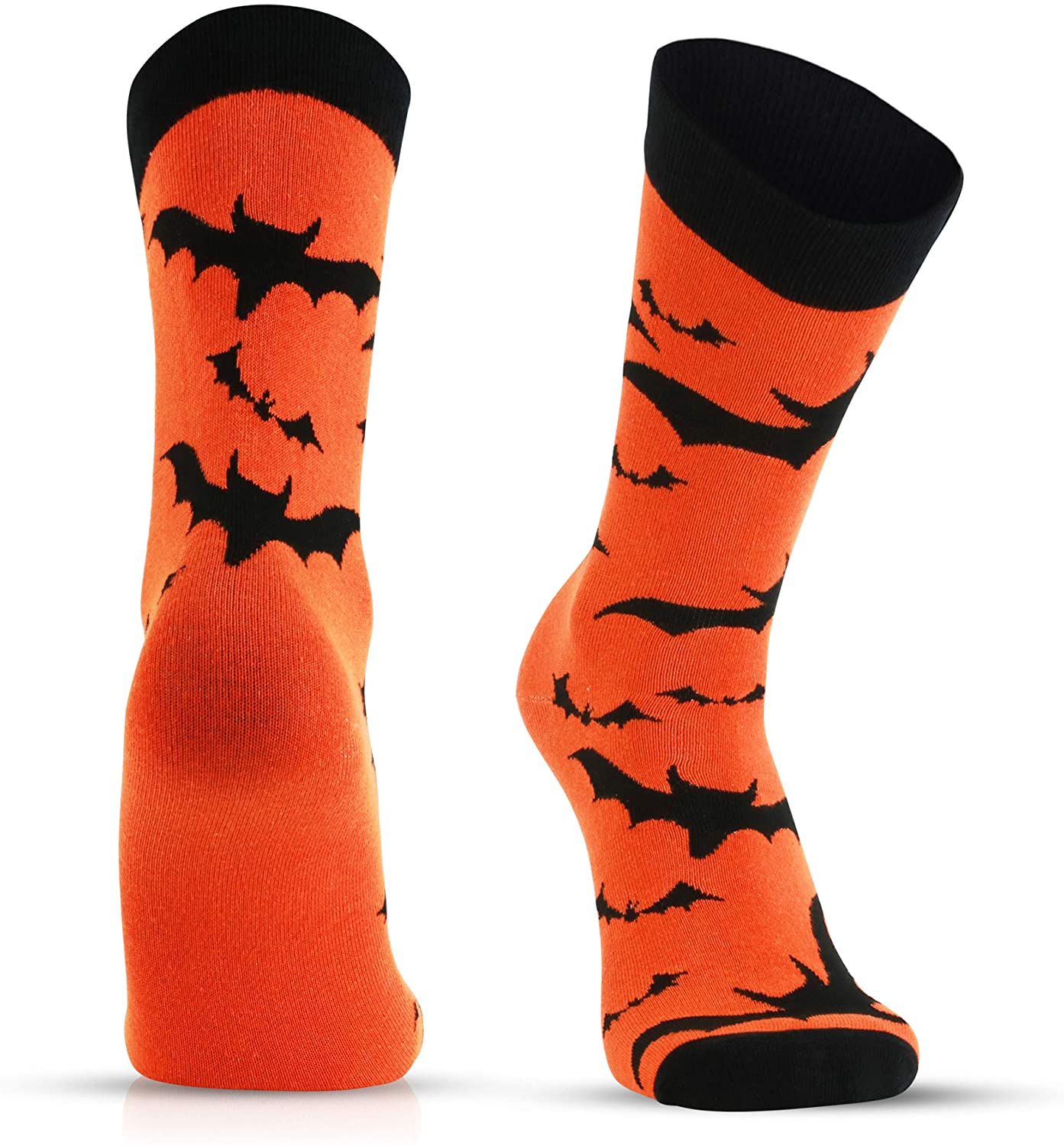 Fun Holiday Socks for Men - Cool Novelty Design Gifts for Dad, Son, Husband - Halloween 4th Of July