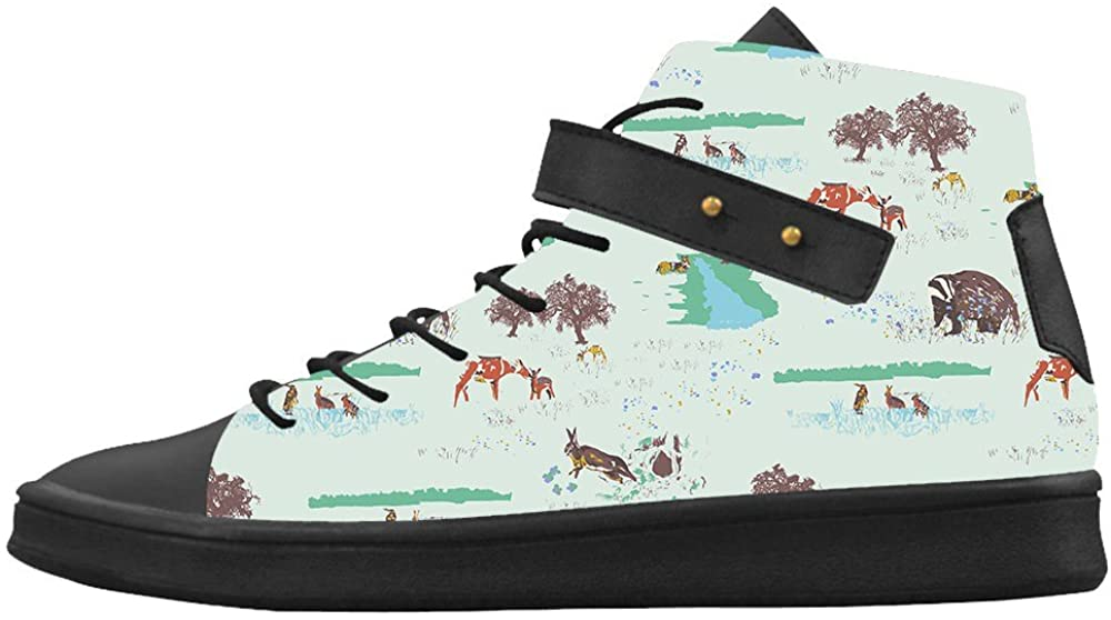 Daniel Turnai Fan Custom Women's Shoes Small Animals New Sneaker Canvas Round Toe