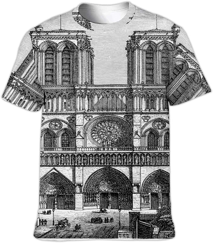 C COABALLA Egtv,Fashion Men's Short Sleeve Fitness Print Casual T-Shirt Sport Top Blouse S