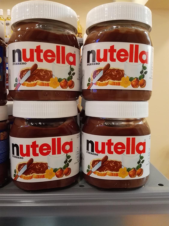 40 Pcs X Nutella Hazelnut Spread 350g 12.4oz, Glass Jar