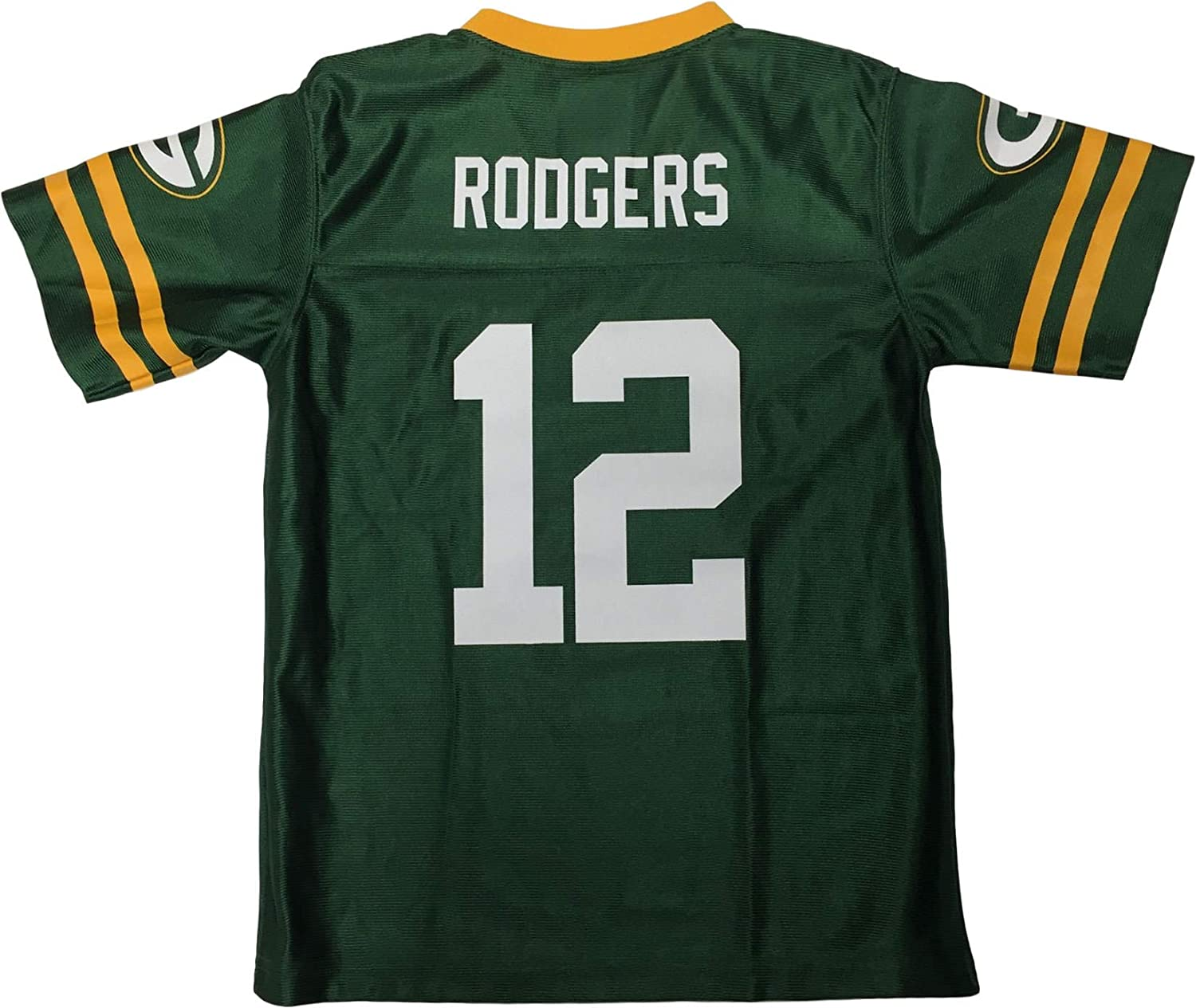 Outerstuff Green Bay Packers Boy's Youth Aaron Rodgers #12 Football Jersey