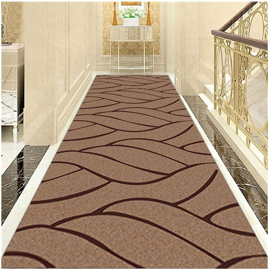 Kitchen Rug LXHONG Extra Long Non Slip Carpets, Dustproof Entrance Carpet, Easy-to-Clean Bedroom Mat for Bedroom Kindergarten Blended, 44 Sizes (Color : Multi-Colored, Size : 120x500cm)
